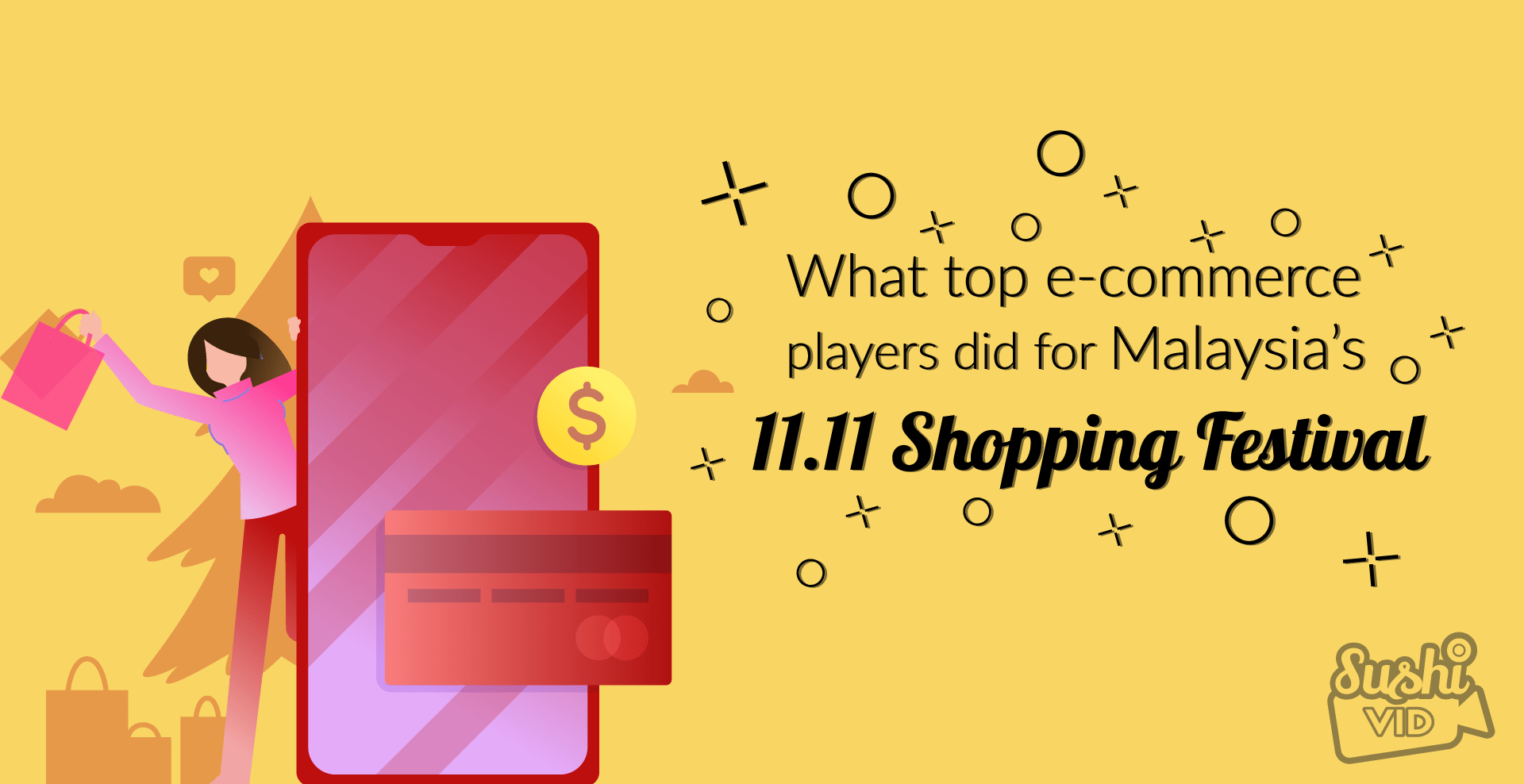 What local top e-commerce players did for Malaysia's 11.11 Shopping Festival