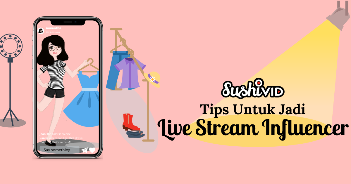 Tips   tricks to become a live stream influencer  malay
