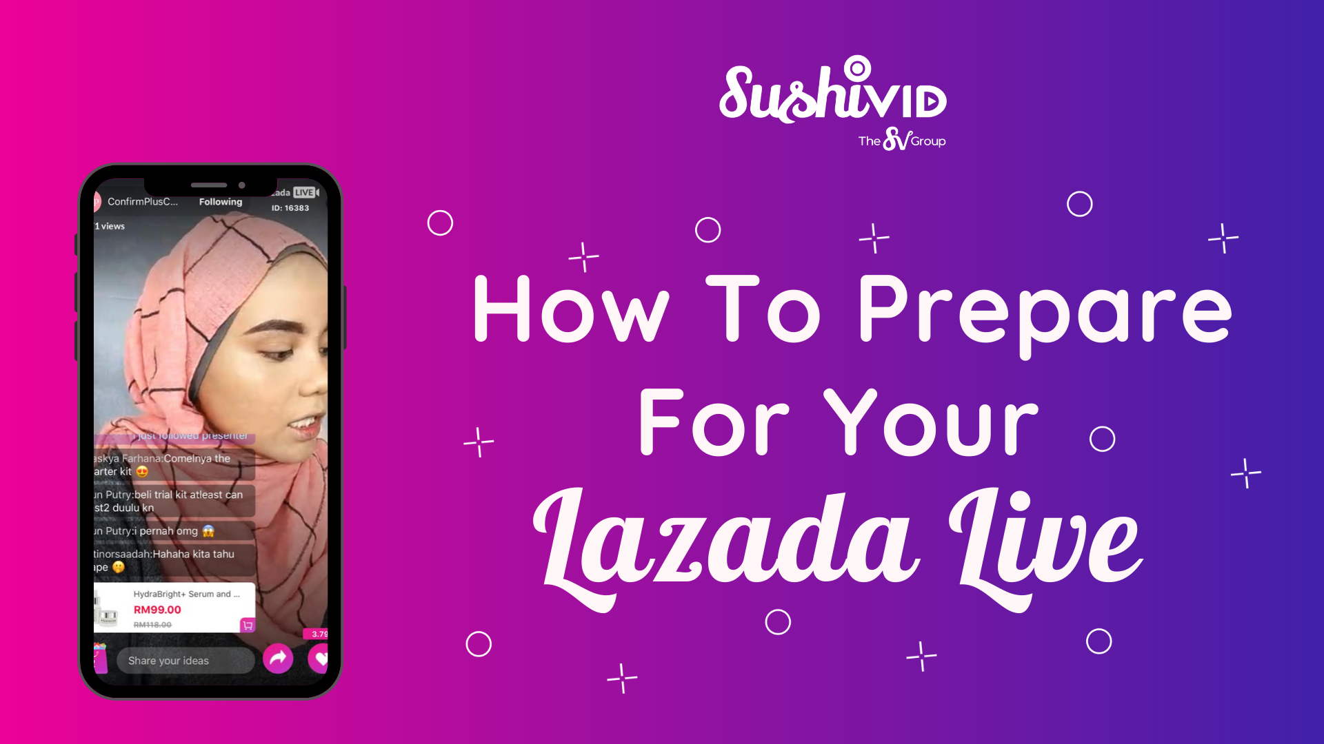 How To Prepare For Your Lazada Live