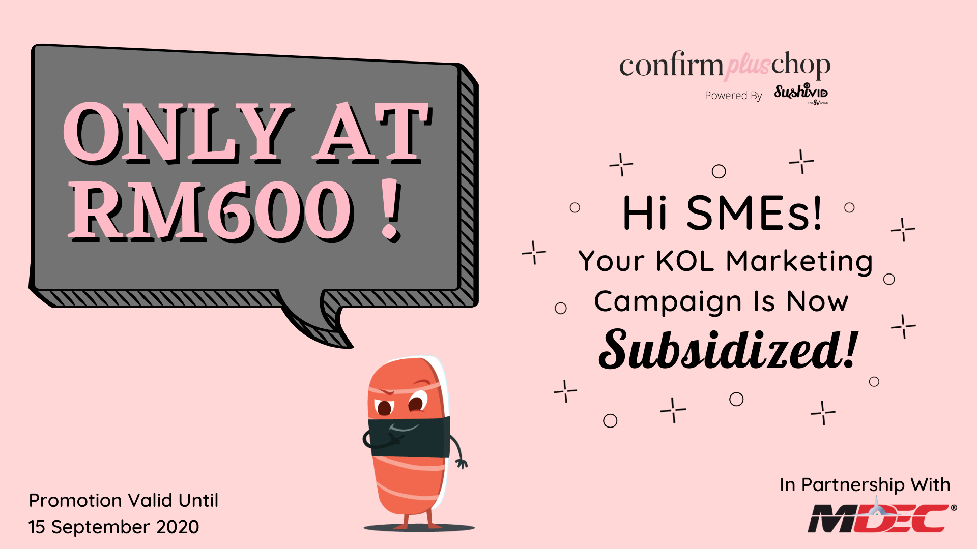Hi SMEs! Your KOL Marketing Campaign Is Now Subsidized!