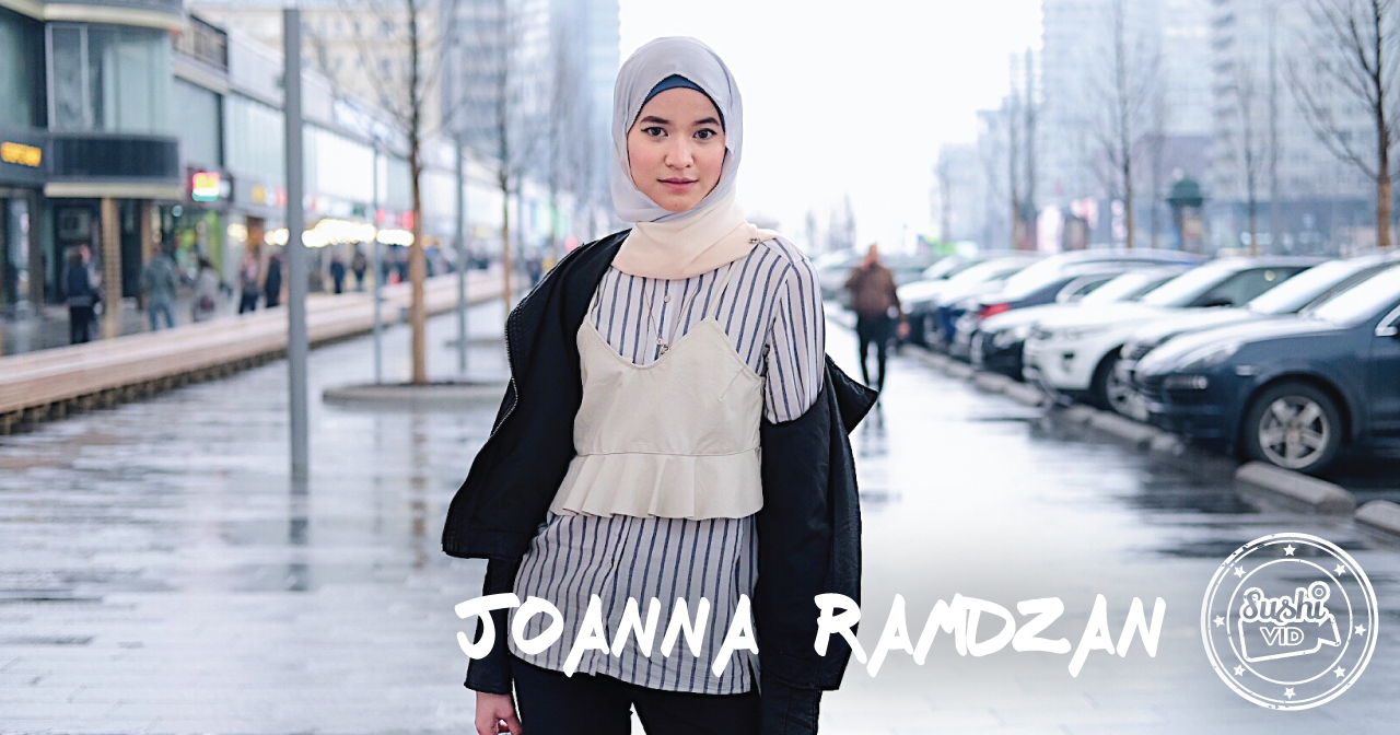 Interview with the lovely Joanna Ramdzan