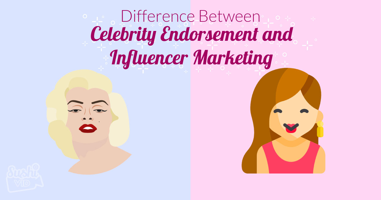 Celeb vs influen